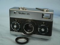 '   35 GERMANY ' Rollei 35 -GERMANY- Vintage  Camera c/w Rollei UV  + Inst £99.99